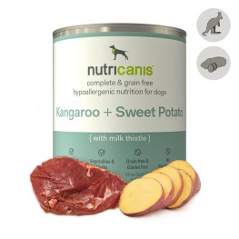 Hypoallergenic wet dog food: 800g Kangaroo & Sweet Potato